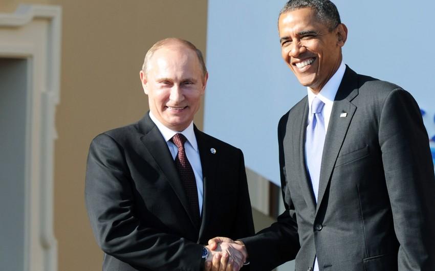 Putin və Obama G20 sammiti çərçivəsində bu gün ayrıca görüşəcəklər