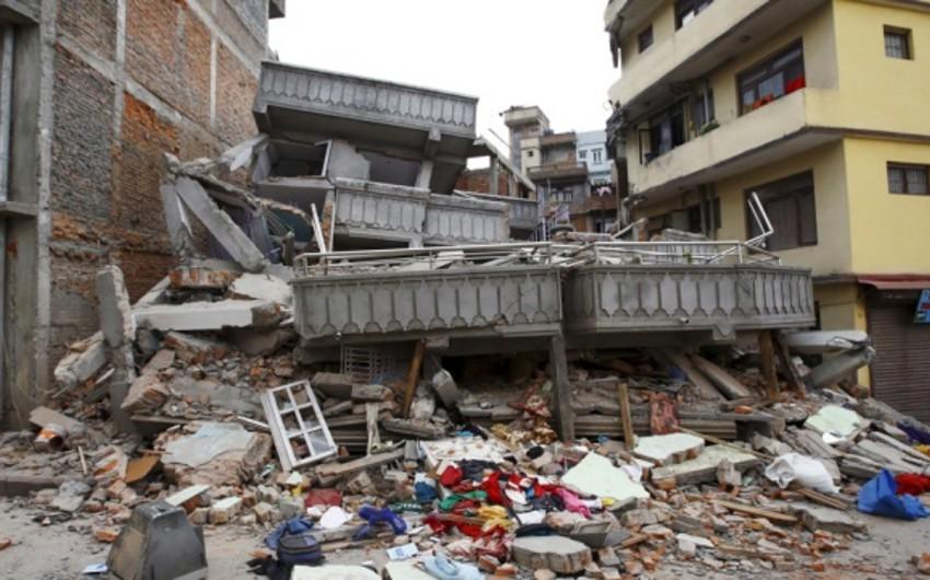 Землетрясение магнитудой 7,1 произошло в Непале