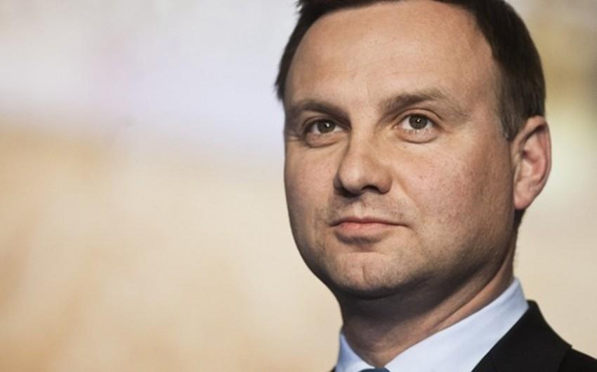 Polşa prezidenti ölkədə NATO-nun mövcudluğunun artırılacağını bildirib