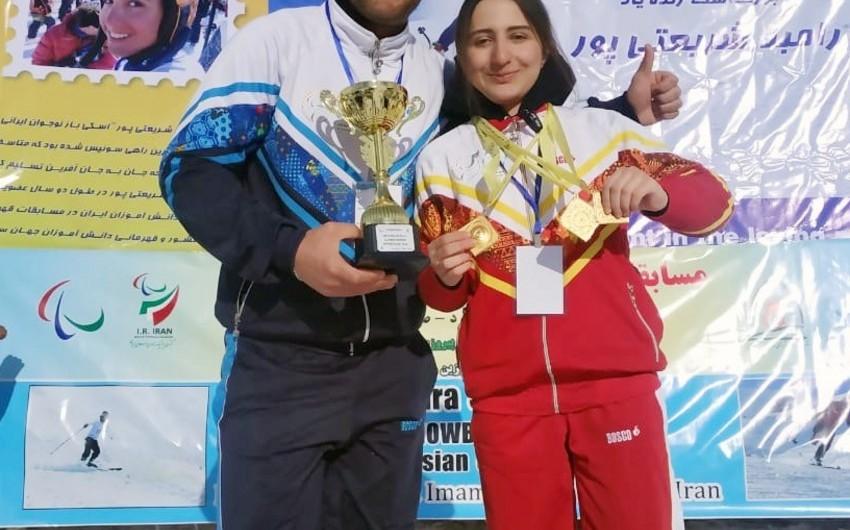 Azərbaycan paralimpiya hərəkatı tarixində ilk dəfə qış idman növündə medal qazanılıb