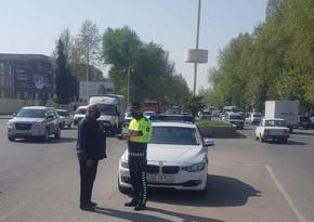 Bərdədə yol polisi reyd keçirdi, qaydaları pozan sürücülər cərimələndi