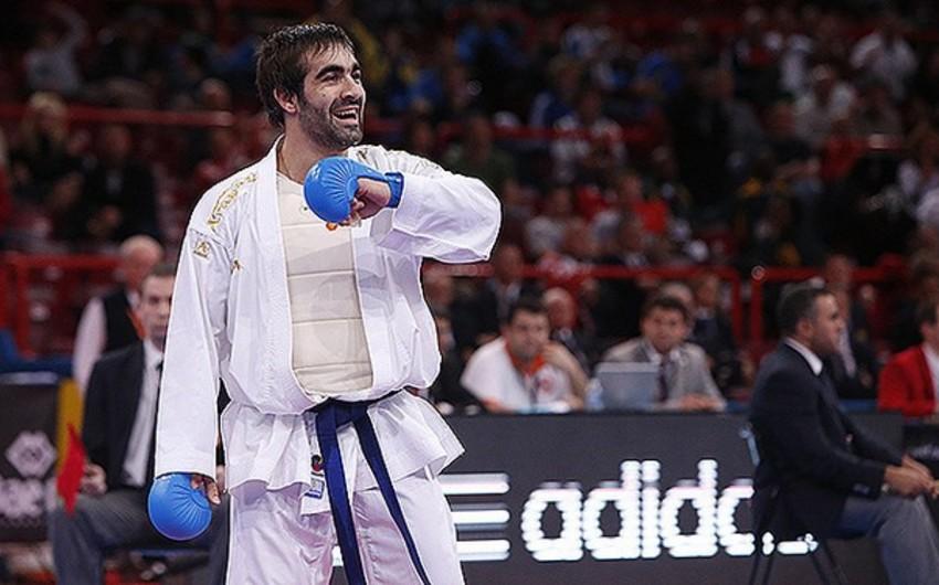 Karateçi Rafael Ağayev və Firdovsi Fərzəliyev gümüş medal qazanıb - YENİLƏNİB-5