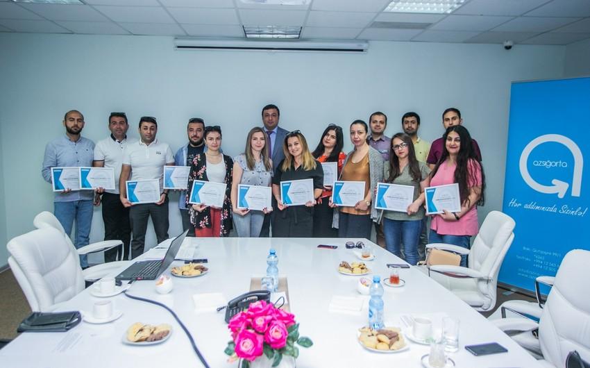 """""""Azsığorta"""" media nümayəndələri üçün təlim təşkil edib"""