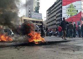 Livanda etirazçılarla polis arasında toqquşmalarda 226 nəfər xəsarət alıb