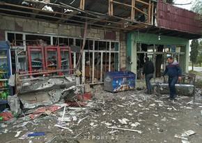 Армяне вновь подвергли обстрелу Агдам, ранены два мирных жителя