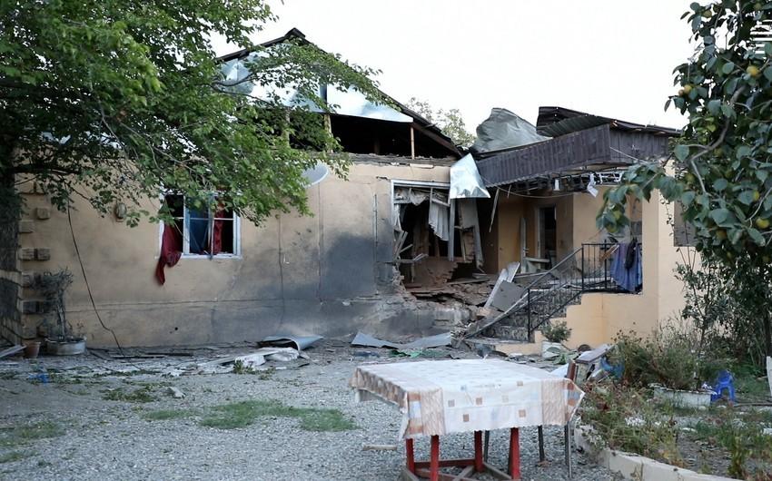 Ermənistan silahlı qüvvələri mülki obyektləri atəşə tutmaqda davam edir