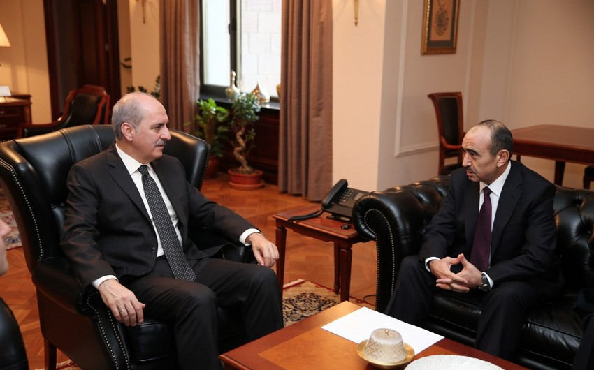 Presidential Assistant Ali Hasanov met with Turkish deputy prime ministers