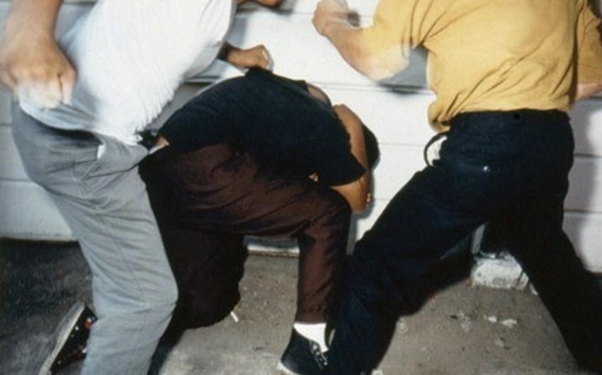Sumqayıtda şadlıq evinin qarşısında dava baş verib - YENİLƏNİB