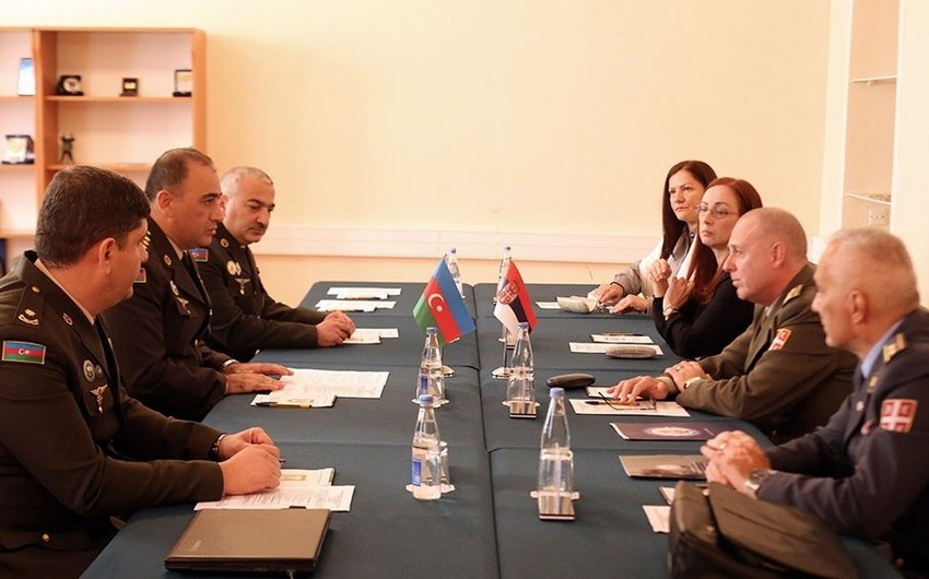 Azerbaijani and Serbian defense ministers discuss cooperation issues