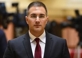 Serbiya Baş nazirinin müavini Bakıda açıqlama verdi