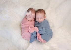 1,862 twins, 51 triplets, 4 quadruplets born in Azerbaijan this year