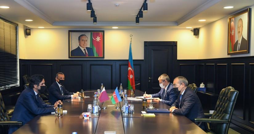 Qətər şirkətləri Azərbaycana investisiya yatırmağa dəvət edilib