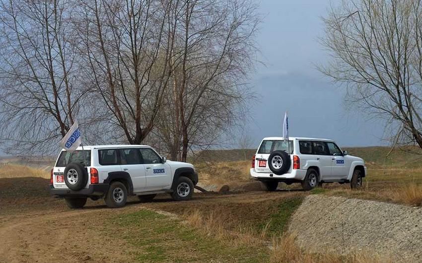 ОБСЕ провел мониторинг на линии фронта