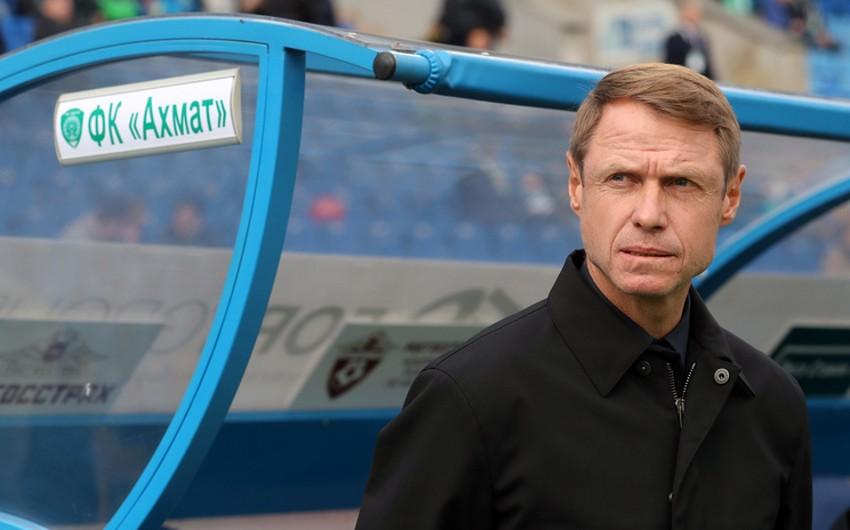 Главный тренер российского клуба Ахмат подал в отставку