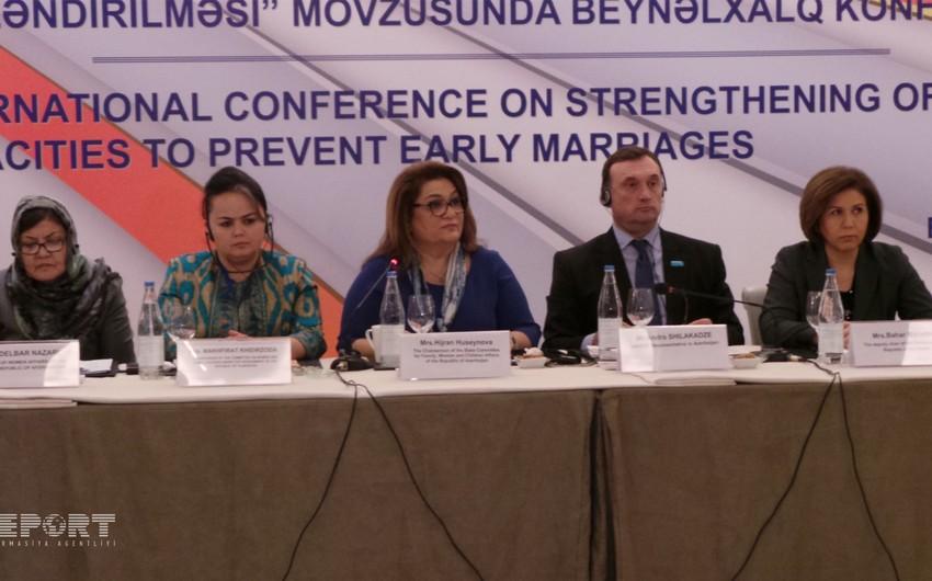 Председатель комитета: В некоторых районах Азербайджана, в ряде сел Баку увеличилось число ранних браков