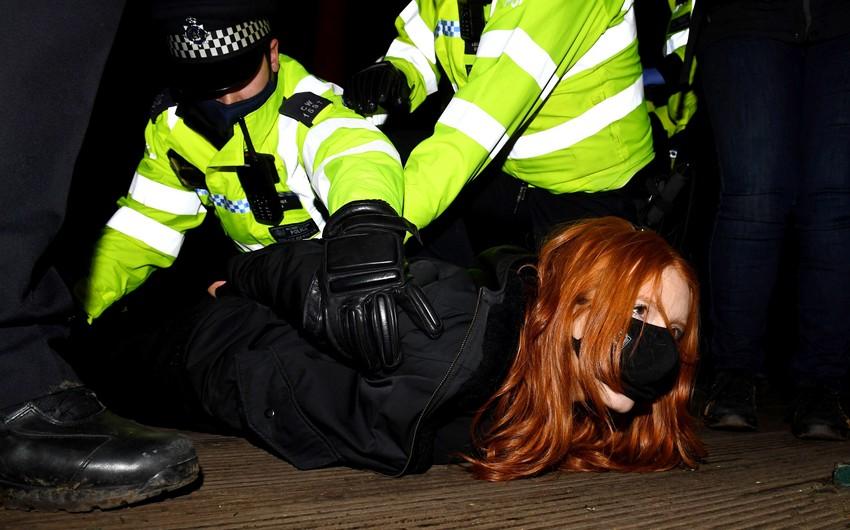 На акции в Лондоне задержали 33 человек