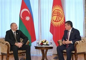 Azərbaycan Prezidenti qırğız həmkarını təbrik edib