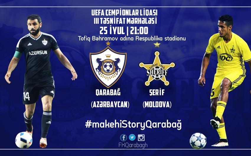 Определилось время матча Карабах - Шериф