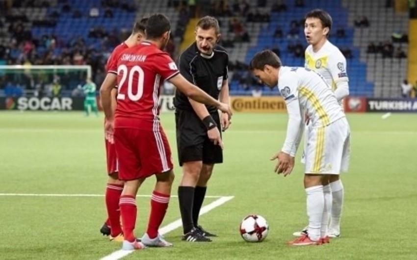 Qazaxıstan - Azərbaycan matçının hakimləri açıqlanıb