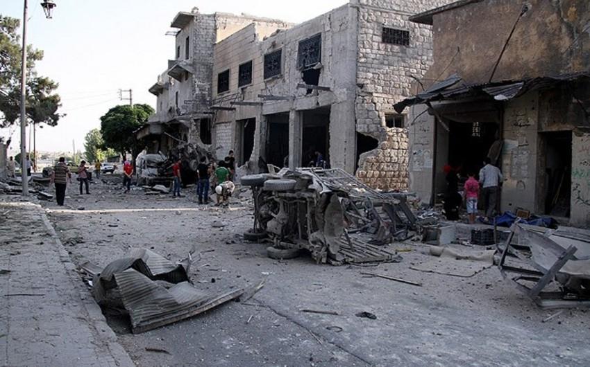 Suriyada hava hücumunda 18 nəfər ölüb, 35 nəfər yaralanıb