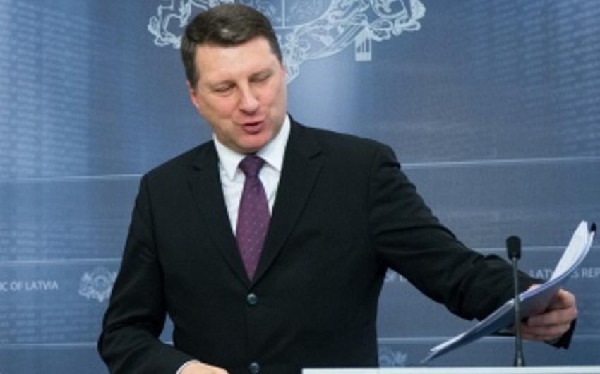 Latviyanın yeni prezidenti səlahiyyətlərinin icrasına başlayıb