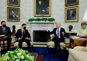 Зеленский: Вашингтон поддерживает стремление Киева по вхождению в НАТО