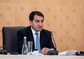 Хикмет Гаджиев: Армения отказывается предоставлять карты минных полей