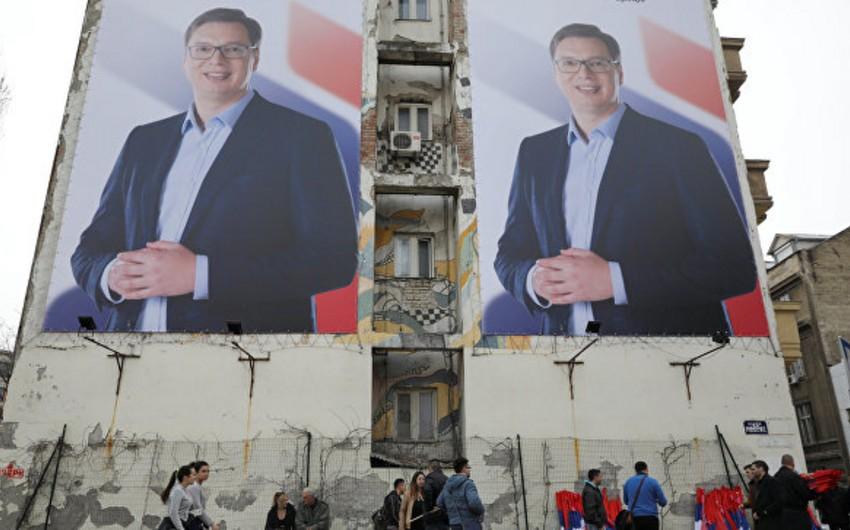 Serbiyanın yeni seçilmiş prezidenti xalqa ona göstərilən etimada görə təşəkkür edib