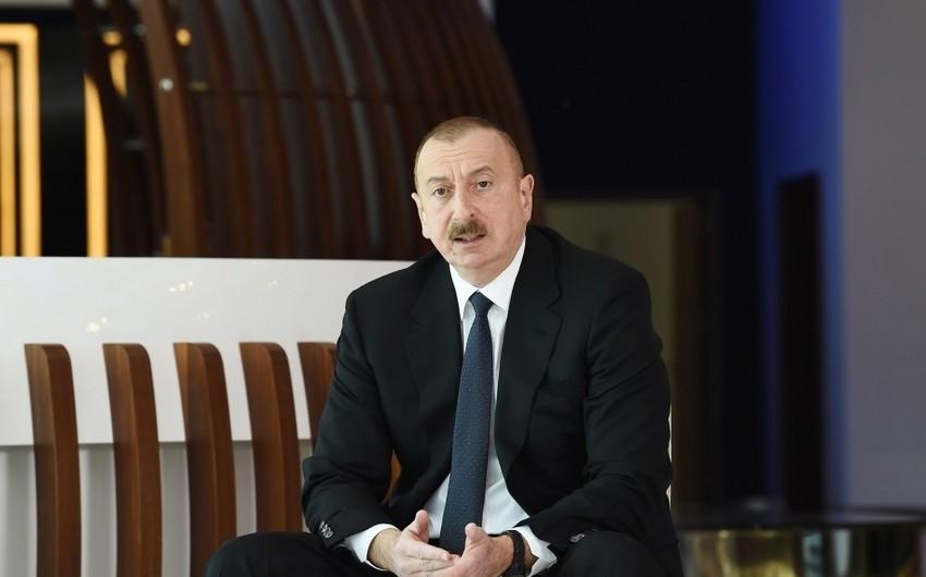 Azərbaycan Prezidenti vətəndaşlara çağırış etdi