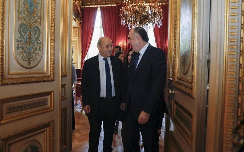 Fransanın XİN başçısı: Biz Qarabağ münaqişəsinin danışıqlar yolu ilə dayanıqlı həllinin tərəfdarıyıq