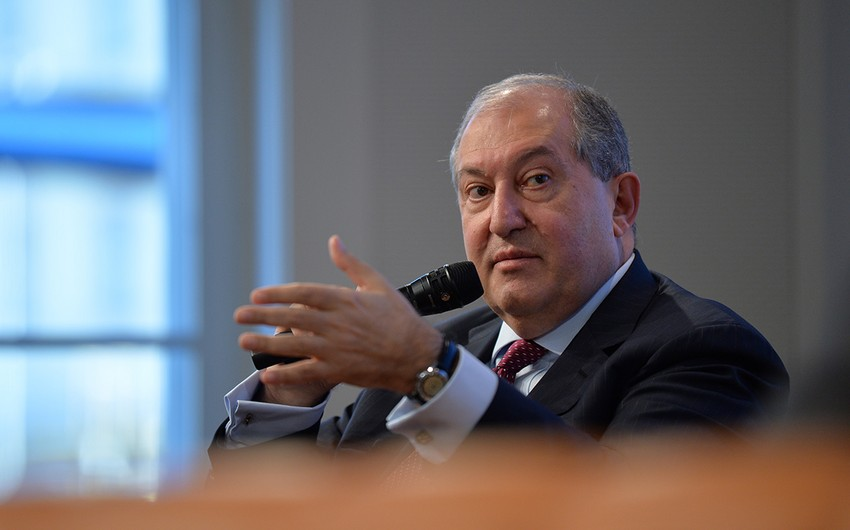 Ermənistan prezidenti  -
