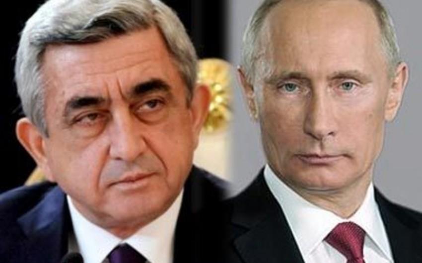 Vladimir Putin Serj Sarqsyanla görüşəcək