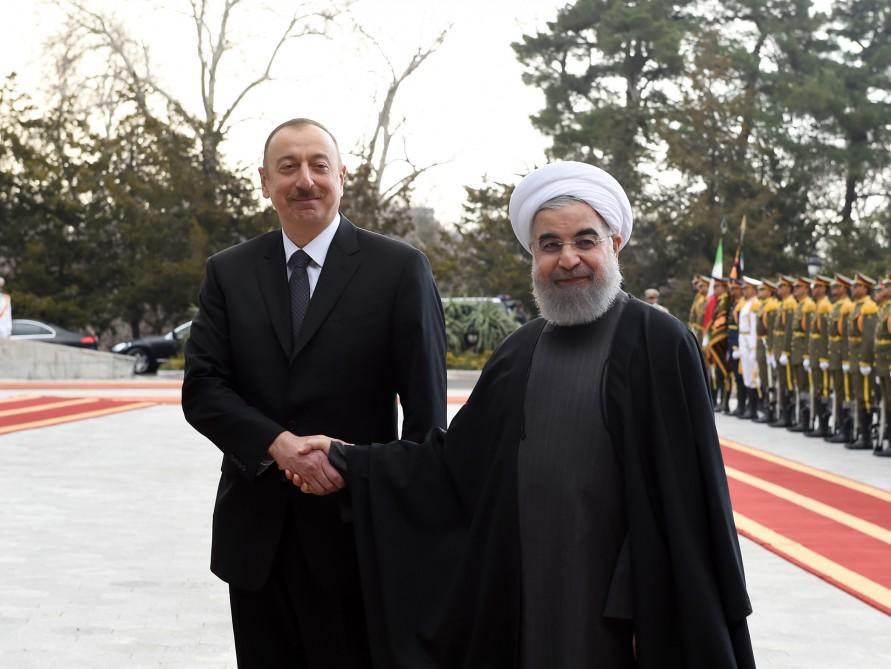 İlham Əliyev: İran-Azərbaycan əlaqələri ən yüksək zirvəyə qalxıb