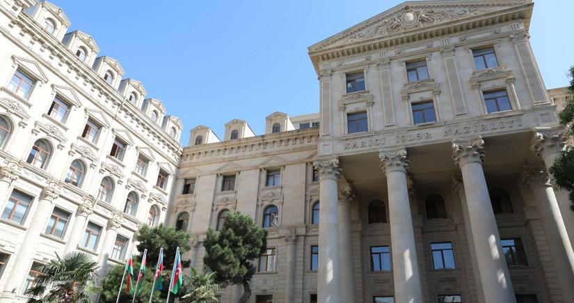 МИД Азербайджана обратится для защиты дипломатов от армянского террора