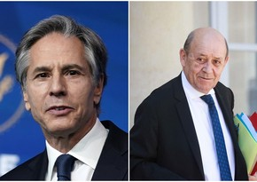 US Secretary of State, French FM hold phone talk