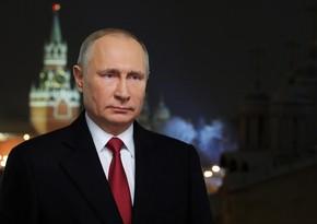Putin Təhlükəsizlik Şurasının üzvləri ilə Azərbaycan-Ermənistan sərhədindəki vəziyyəti müzakirə edib