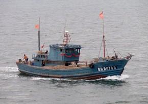 Çində balıqçı gəmisi batıb, itkin düşənlər var