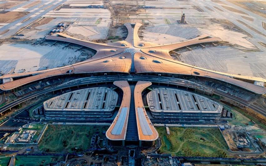 Dünyanın ən böyük hava limanı sentyabrın sonlarında istismara veriləcək - VİDEO