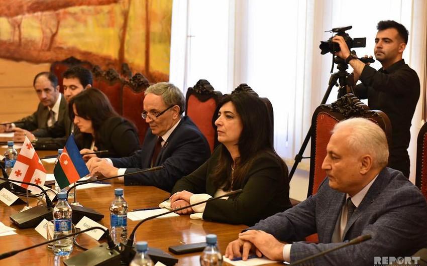 Обсуждены перспективы развития связей между парламентами Азербайджана и Грузии