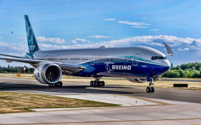 """ABŞ-da bütün """"Boeing 777X""""-lər yoxlanılacaq"""