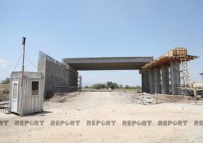 AAYDA: Zəfər yolunun inşası ilə bağlı işlərin 80%-i başa çatdırılıb