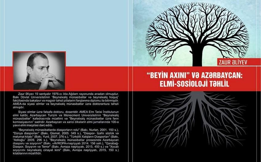 AMEA-nın elmi katibi Zaur Əliyevin yeni kitabı işıq üzü görüb