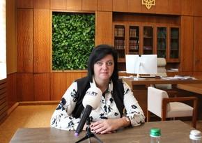 Iryna Hrymak: Azerbaijanis in Ukraine always feel support of local authorities