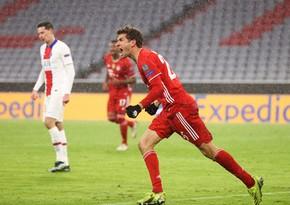 Bavariyanın seriyası qırıldı, futbolçusu rekorda imza atdı