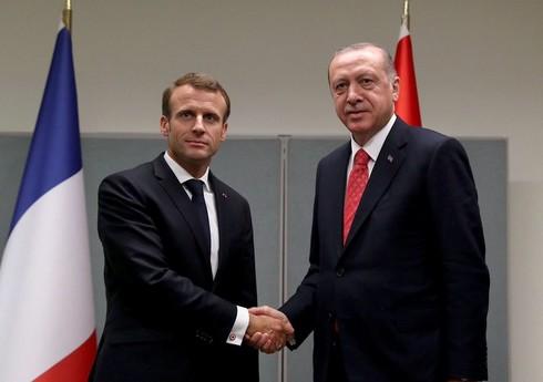 Эрдоган с Макроном обсудят ситуацию в Карабахе