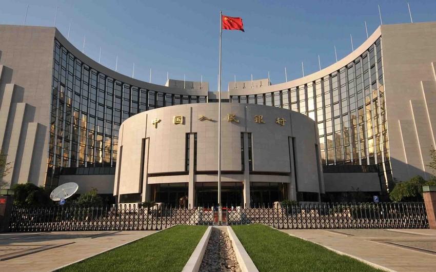 Çin martda valyuta ehtiyatlarını son 7 ayın maksimumuna çatdırıb