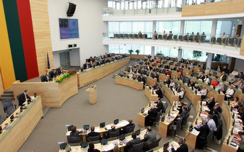 Litva parlamentində Xocalı soyqırımı ilə bağlı müraciət qəbul edilib