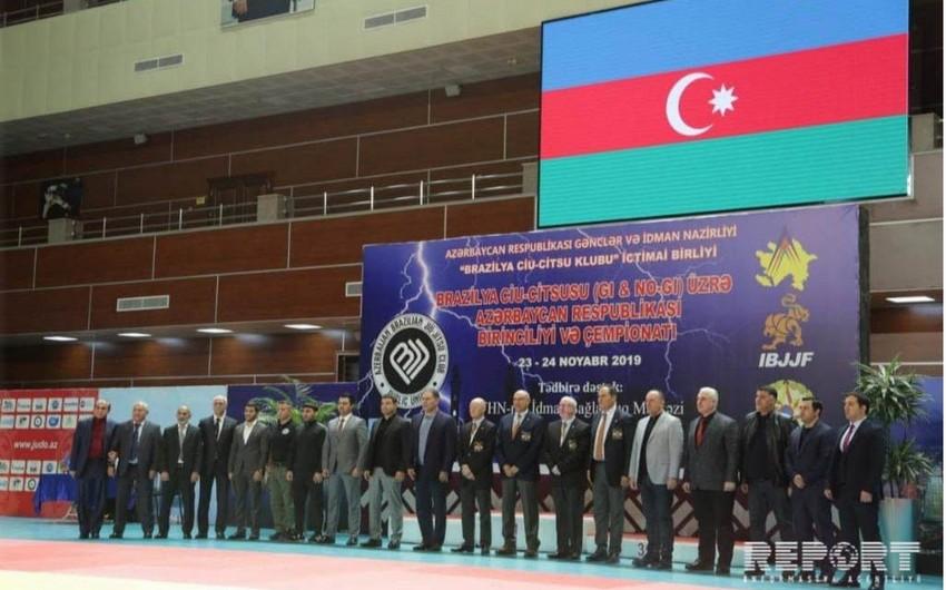 Braziliya ciu-citsusu üzrə Azərbaycan birinciliyi və çempionatı keçirilib - FOTO