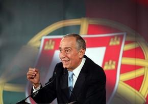 Portuqaliyada prezident seçkilərində hazırkı dövlət başçısı liderlik edir