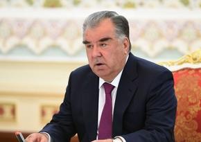 Эмомали Рахмон: Азербайджан занимает важное место во внешнеполитических приоритетах Таджикистана